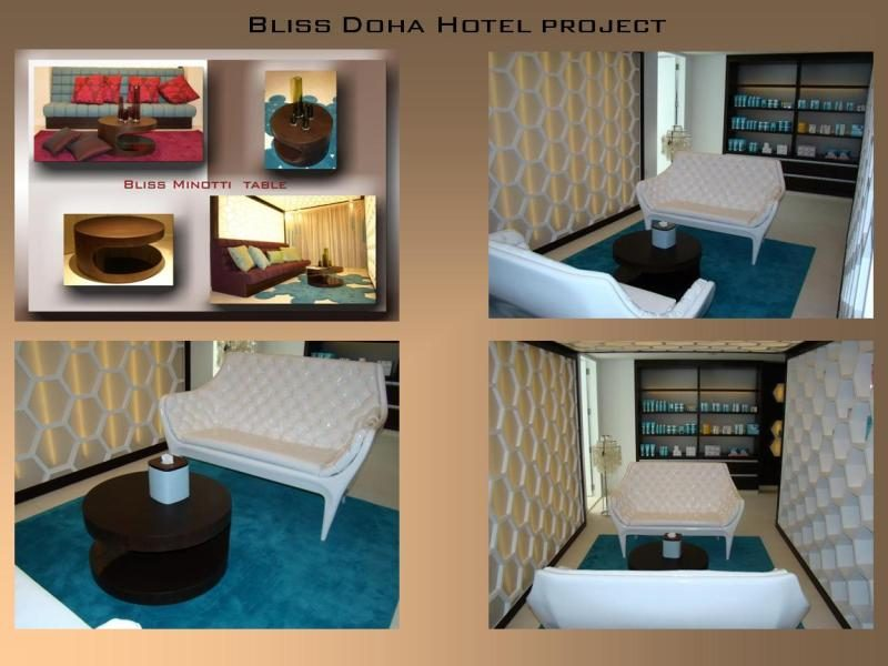 Bliss doha spa project