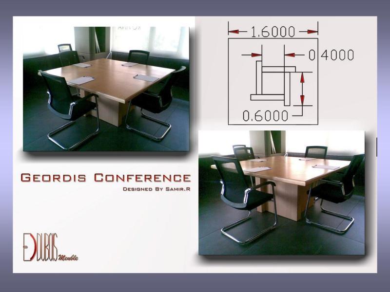 Geordi's conference