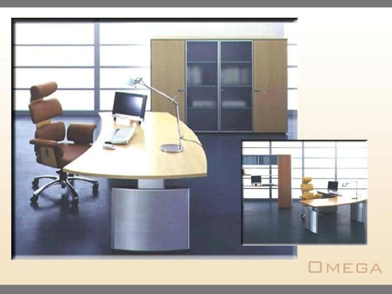 alpha desk & pedestal laminated