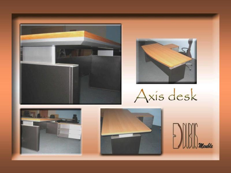 axis desk laminated