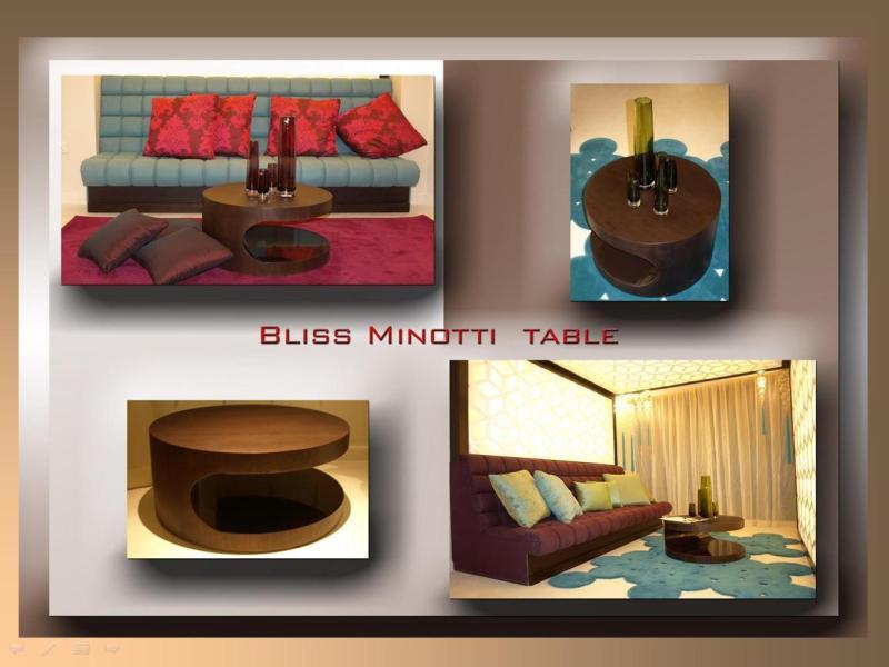 Bliss Minotti Table