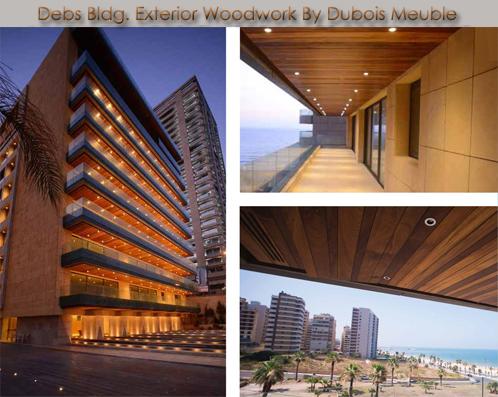 exterior woodwork – Debs Bldg
